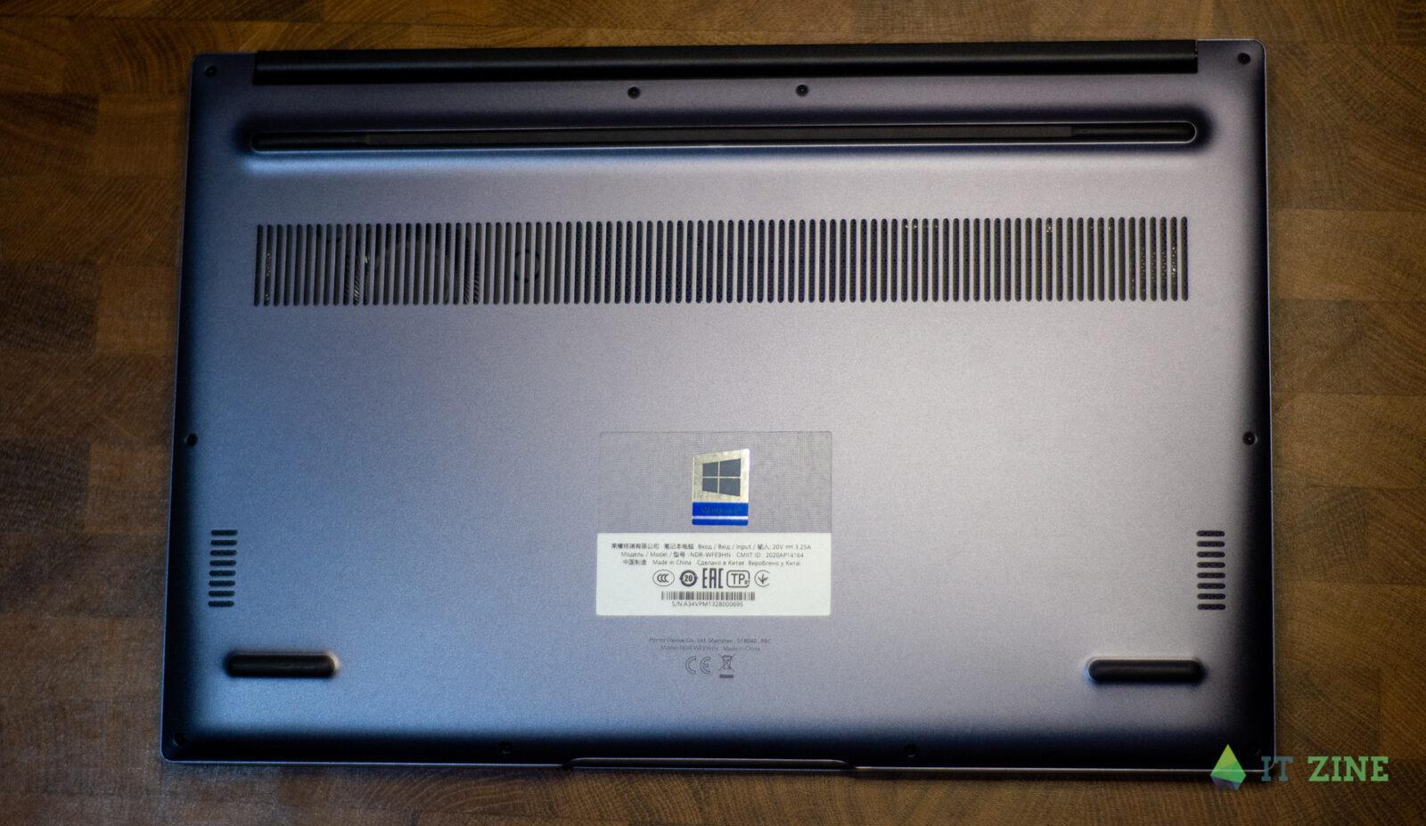 Обзор ноутбука Honor MagicBook 14 (2021): компактный и тихий (export 2607 02)