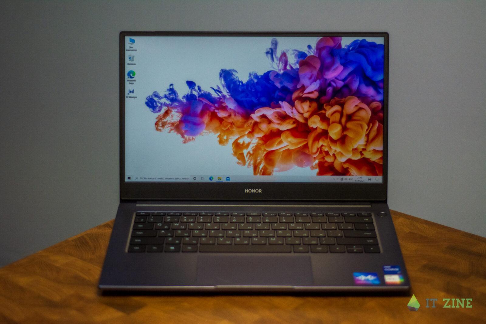 Обзор ноутбука Honor MagicBook 14 (2021): компактный и тихий (export 2607 06)
