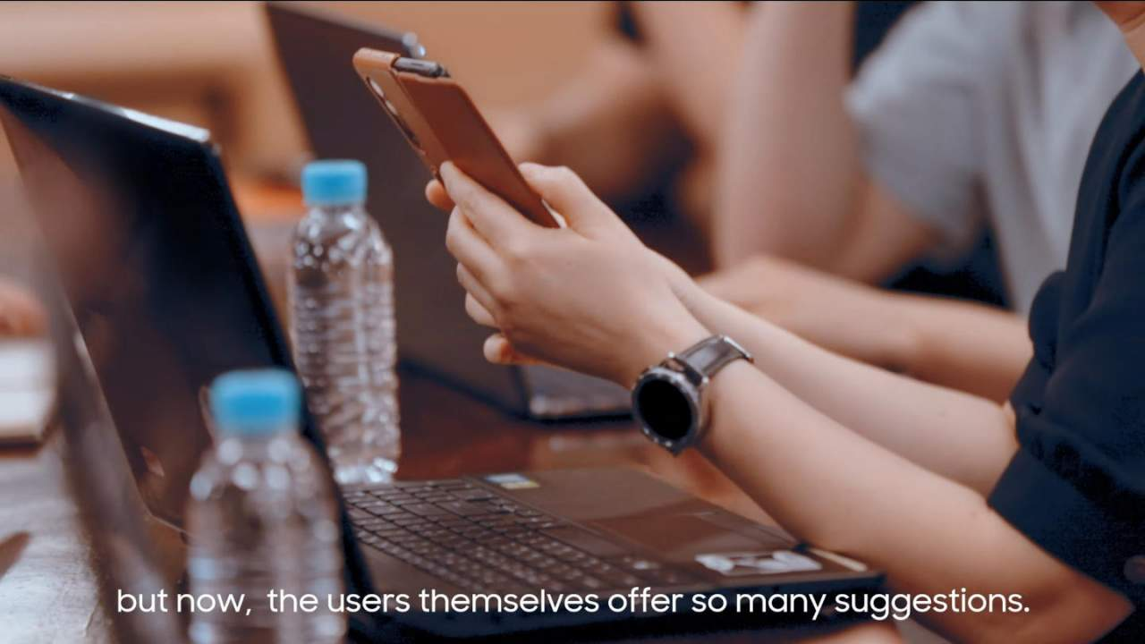 Galaxy Z Fold 3 и Galaxy Watch 4 засветились в официальном видео Samsung (galaxy z fold 3 galaxy watch 4 1280x720 1)