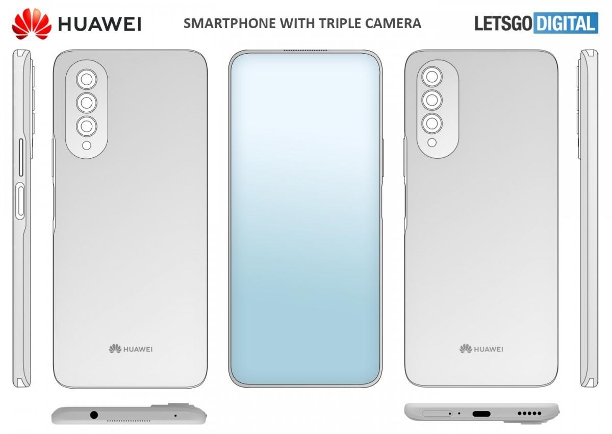 Huawei патентует смартфон с селфи-камерой под дисплеем (gsmarena 002 2)