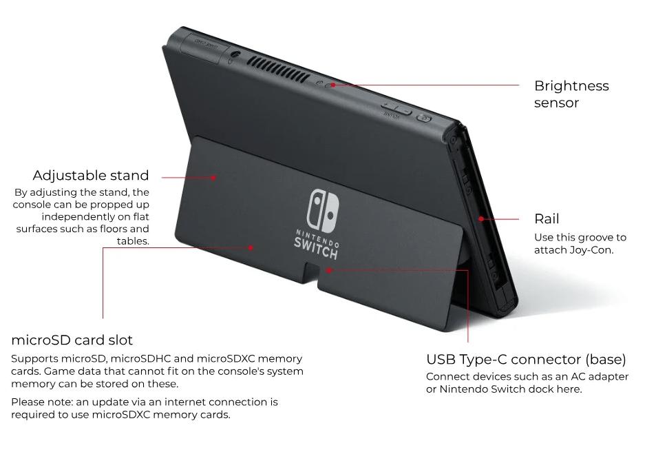 Nintendo Switch c OLED-дисплеем анонсировали официально, продажи с 8 октября (image 7)