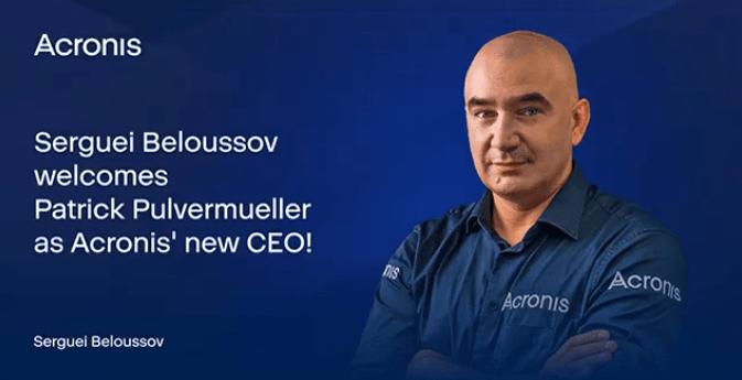 Acronis сменила генерального директора (image 9)
