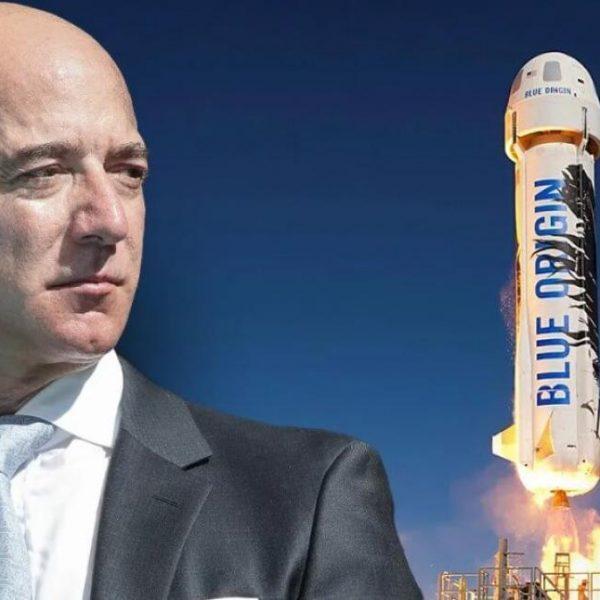 Джефф Безос отправляется в космос: прямая трансляция (jeff bezos space image one 20926)