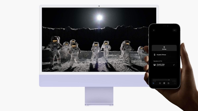 Apple выпустила публичную бета-версию macOS Monterey: что нужно помнить (macos monterey mac airplay)