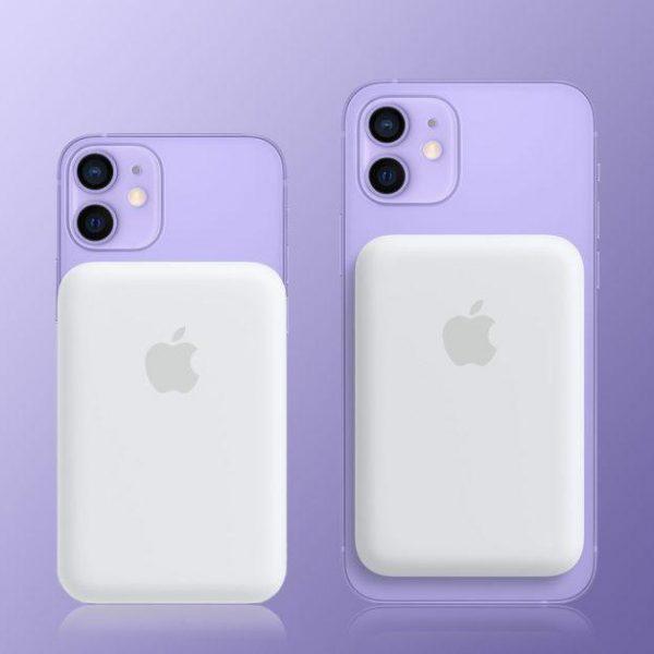 Apple выпустила аккумулятор MagSafe для всех моделей iPhone 12 (magsafe battery pack iphone)