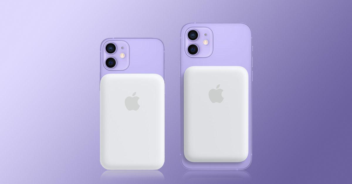 Аккумулятор MagSafe доказывает, что iPhone 12 поддерживает обратную беспроводную зарядку (magsafe battery pack iphone)
