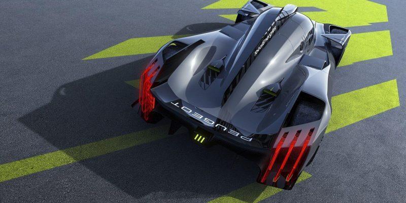 Вышел новый гиперкар Peugeot 9X8 (majeur 01 wec 3 4 rear)