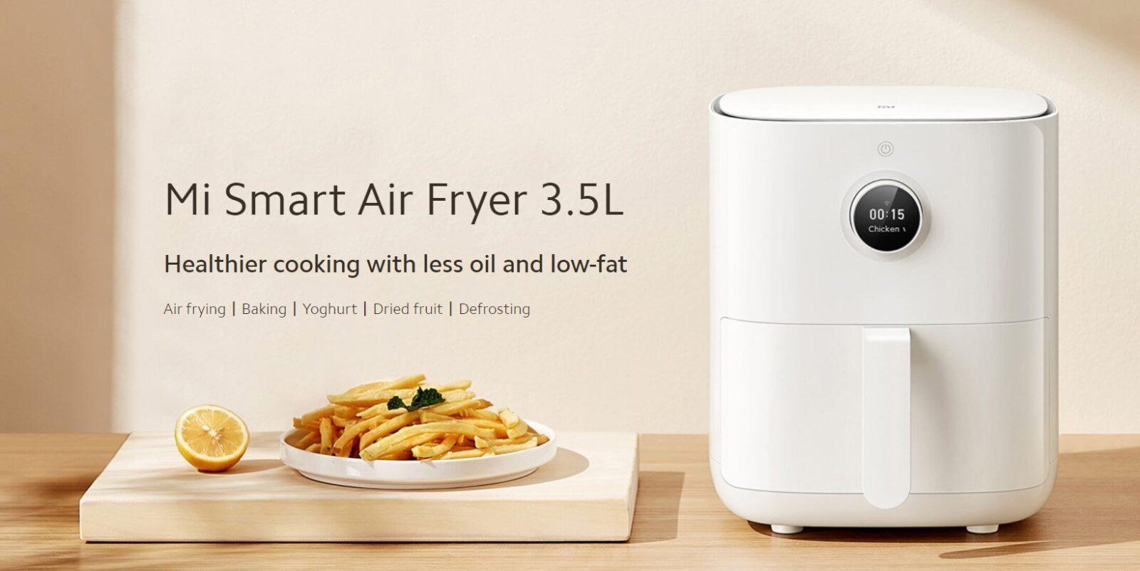 Xiaomi выпустила несколько новых продуктов на мировой рынок (mi smart air fryer 3.5l)