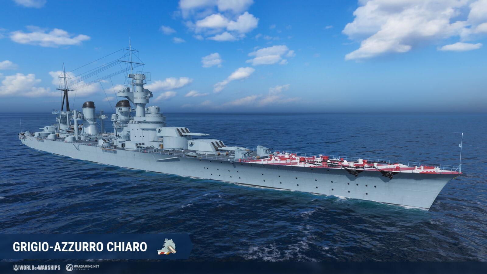 Крейсеры Нидерландов появятся в раннем доступе в World of Warships (napoli it t10 dd screenshots realease 0 10)
