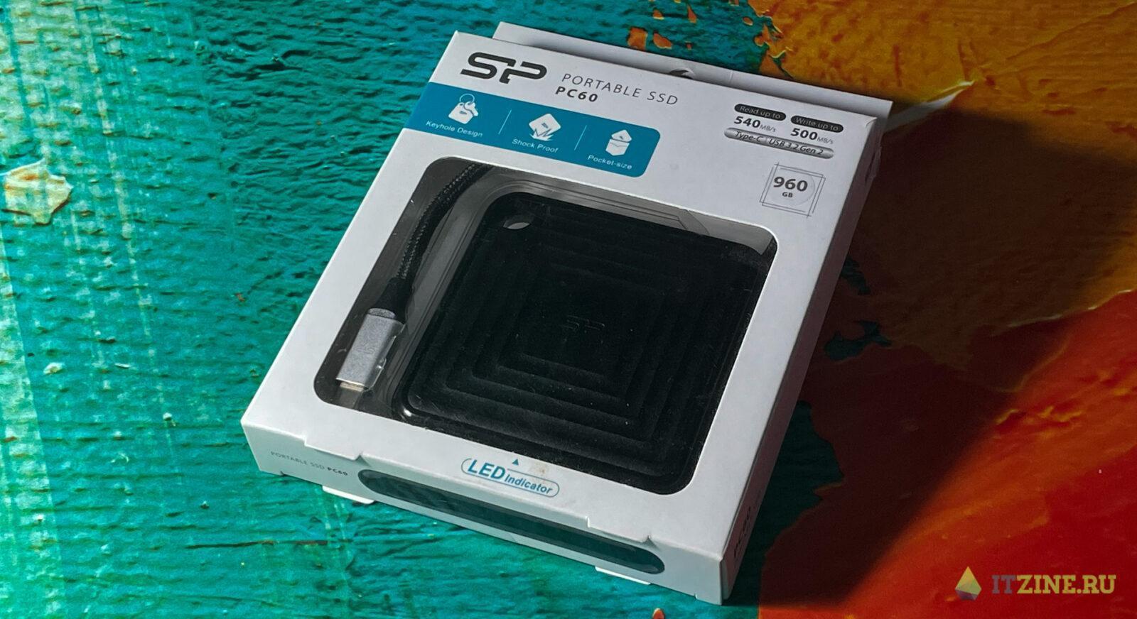 Обзор недорогого внешнего SSD-накопителя Silicon Power PC60 (pc60 02)