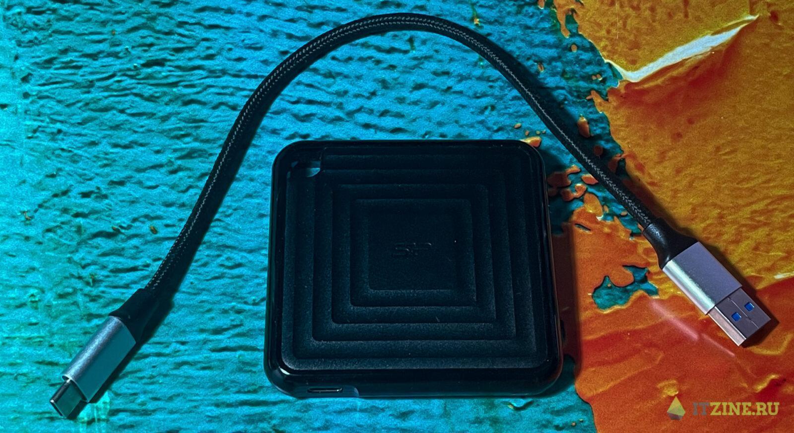 Обзор недорогого внешнего SSD-накопителя Silicon Power PC60 (pc60 03)