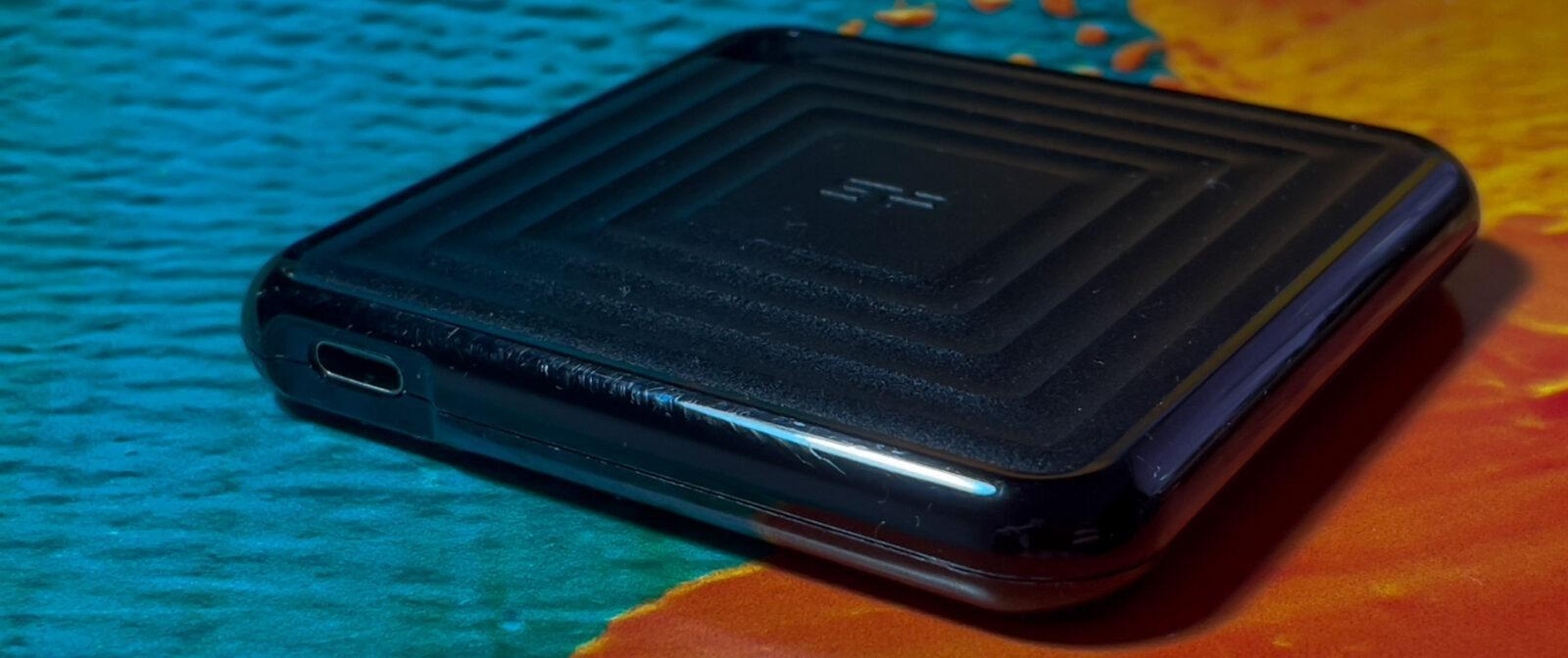 Обзор недорогого внешнего SSD-накопителя Silicon Power PC60 (pc60 08)