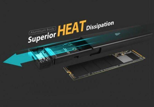 Silicon Power представил PD60 – корпус для твердотельных накопителей M.2 (pd60 800x536 620x415 1)