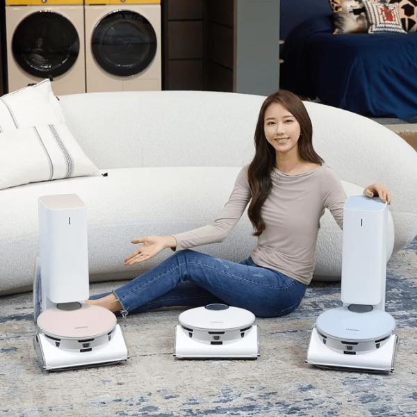 Samsung начала продажи умного робота-пылесоса Jet Bot AI+ (samsung bespoke jet bot ai large)