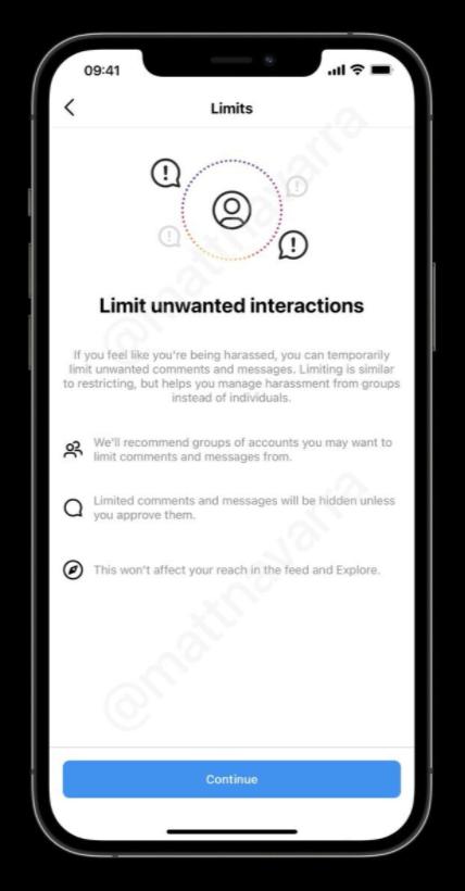 Instagram начал тестирование алгоритма по борьбе с оскорблениями (screenshot 1 7)