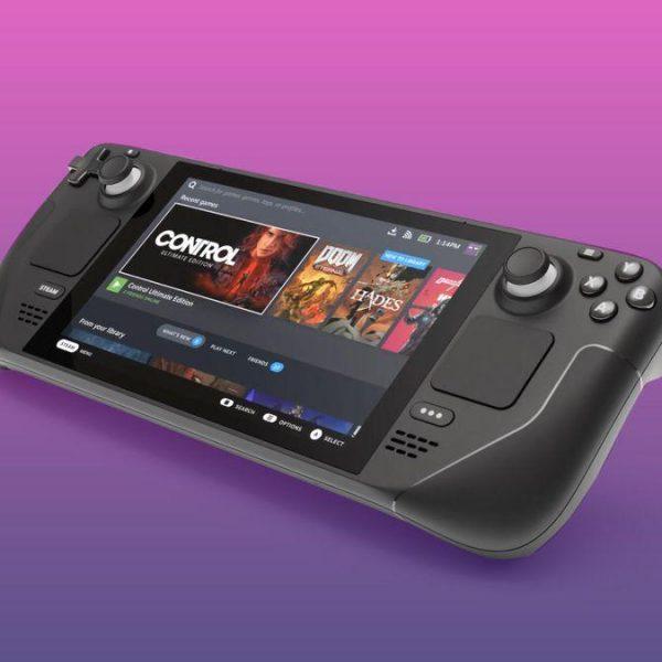 Подробные характеристики Steam Deck, новой игровой консоли Valve (steam deck pink purple gradient cnet 2021)