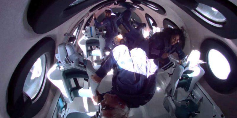 Virgin Galactic успешно доставила Ричарда Брэнсона в космос и обратно (virgin galactic unity benson space 1280x720 1)