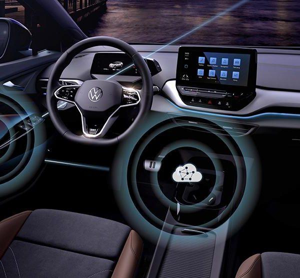Volkswagen запускает беспроводное обновление программного обеспечения для семейства ID (volkswagen over the air update)