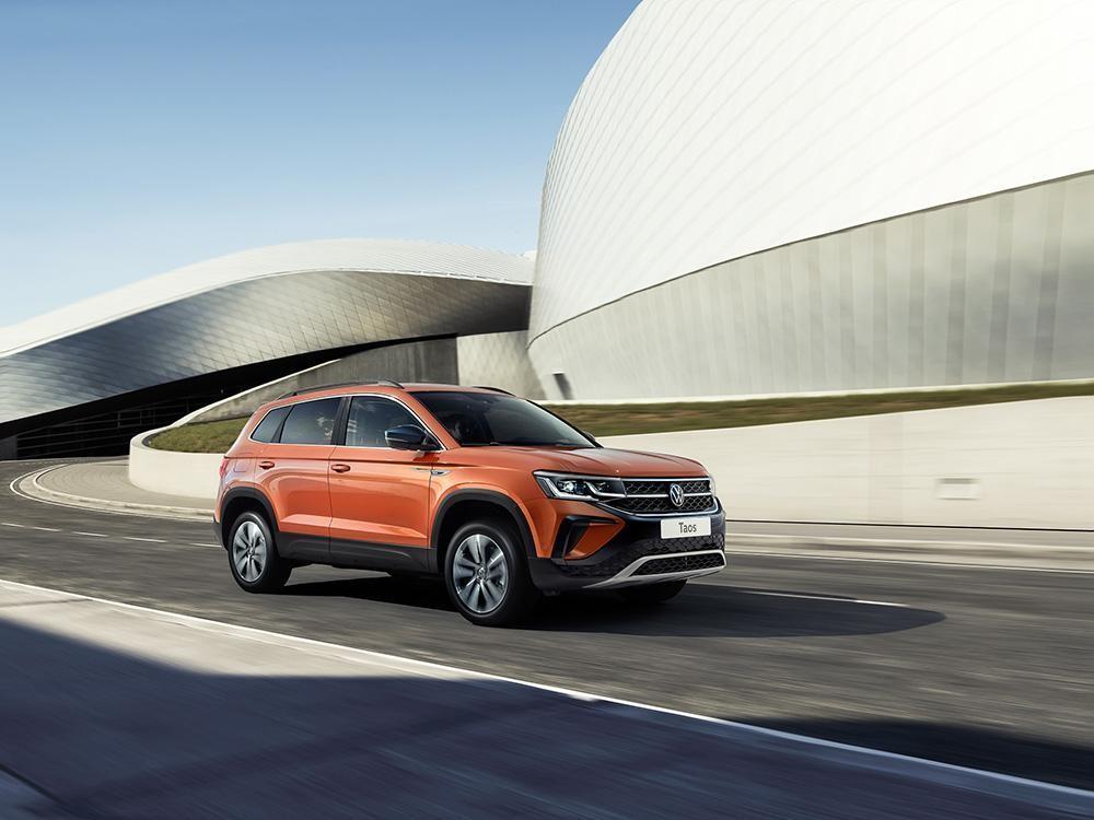 Volkswagen Taos поступает в продажу, цены от 1.6 миллиона (volkswagen taos 1 1)