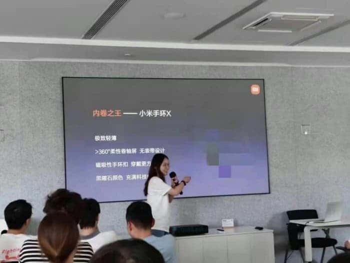 Xiaomi выпустит умный браслет Mi Band X с гибким экраном ()