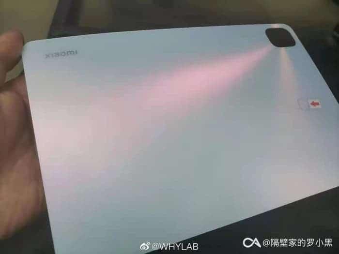 В сети появилось первое живое фото планшета Xiaomi Mi Pad 5 ()