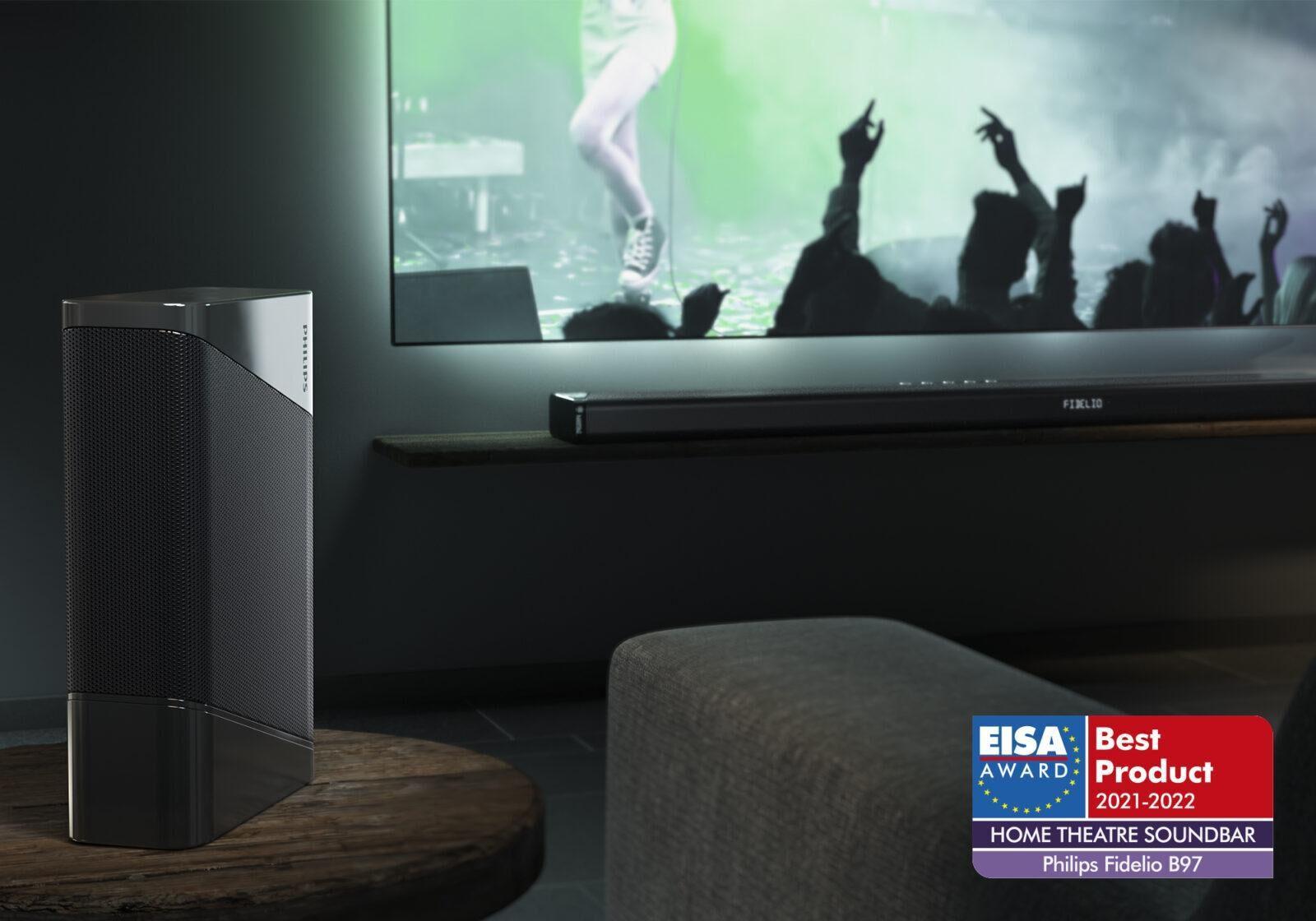 Аудиотехника и телевизоры Philips получили четыре премии EISA (fidelio b97 lifestyle)
