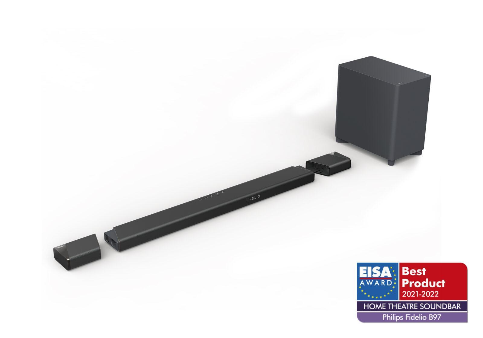 Аудиотехника и телевизоры Philips получили четыре премии EISA (fidelio b97 render)