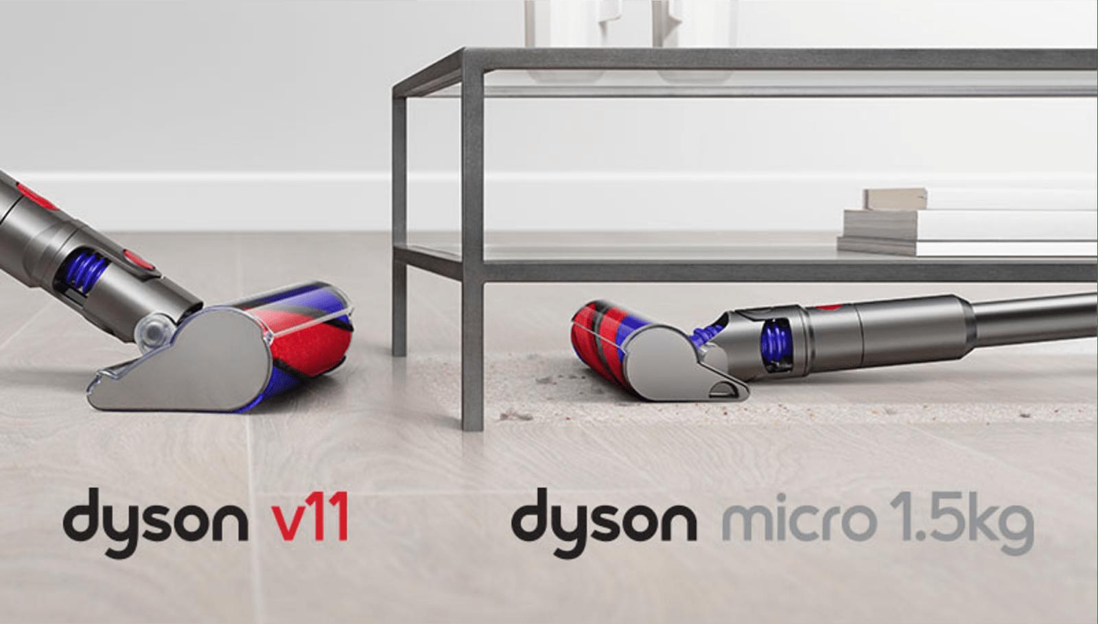 Dyson выпустил новые пылесосы с технологией лазерного обнаружения невидимой пыли (micro)
