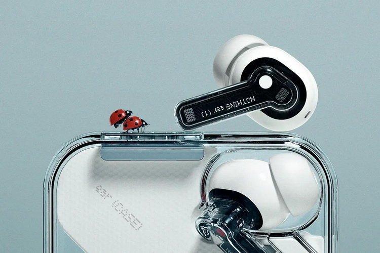 Прозрачные наушники от экс-главы OnePlus раскупили за 2 минуты (nothing ear 1 ladybirds)
