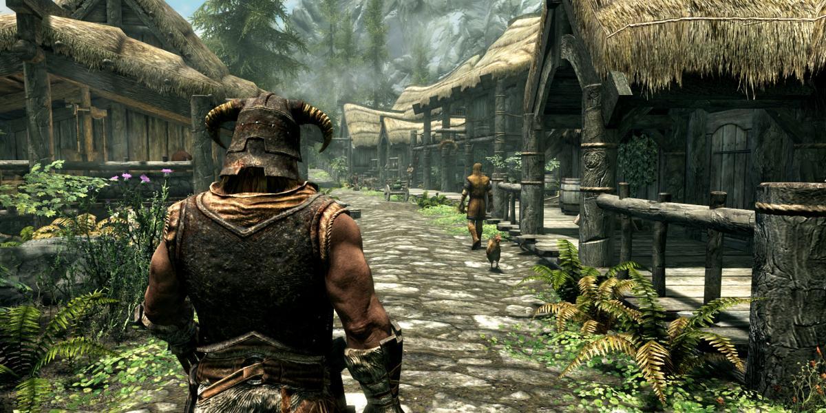 11 ноября выйдет юбилейное издание The Elder Scrolls V: Skyrim (skyrim special edition e3 2016 riverwood)