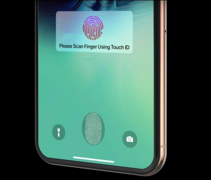 В новых iPhone не будет встроенного сканера отпечатков пальца (touch id)