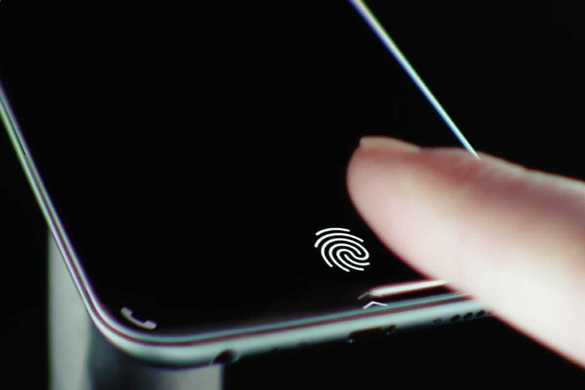 В новых iPhone не будет встроенного сканера отпечатков пальца (touchid)