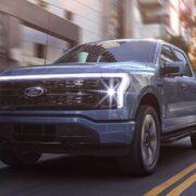 Ford потратит 250 миллионов долларов на увеличение производства F-150 Lightning (2022 ford f 150 lightning front view)
