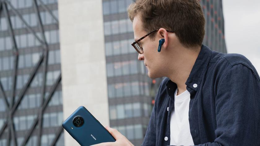 В России начались продажи беспроводных наушников Nokia Noise Cancelling Earbuds BH-805 (21d019e5d0b163b9dc3327fa525d499c)