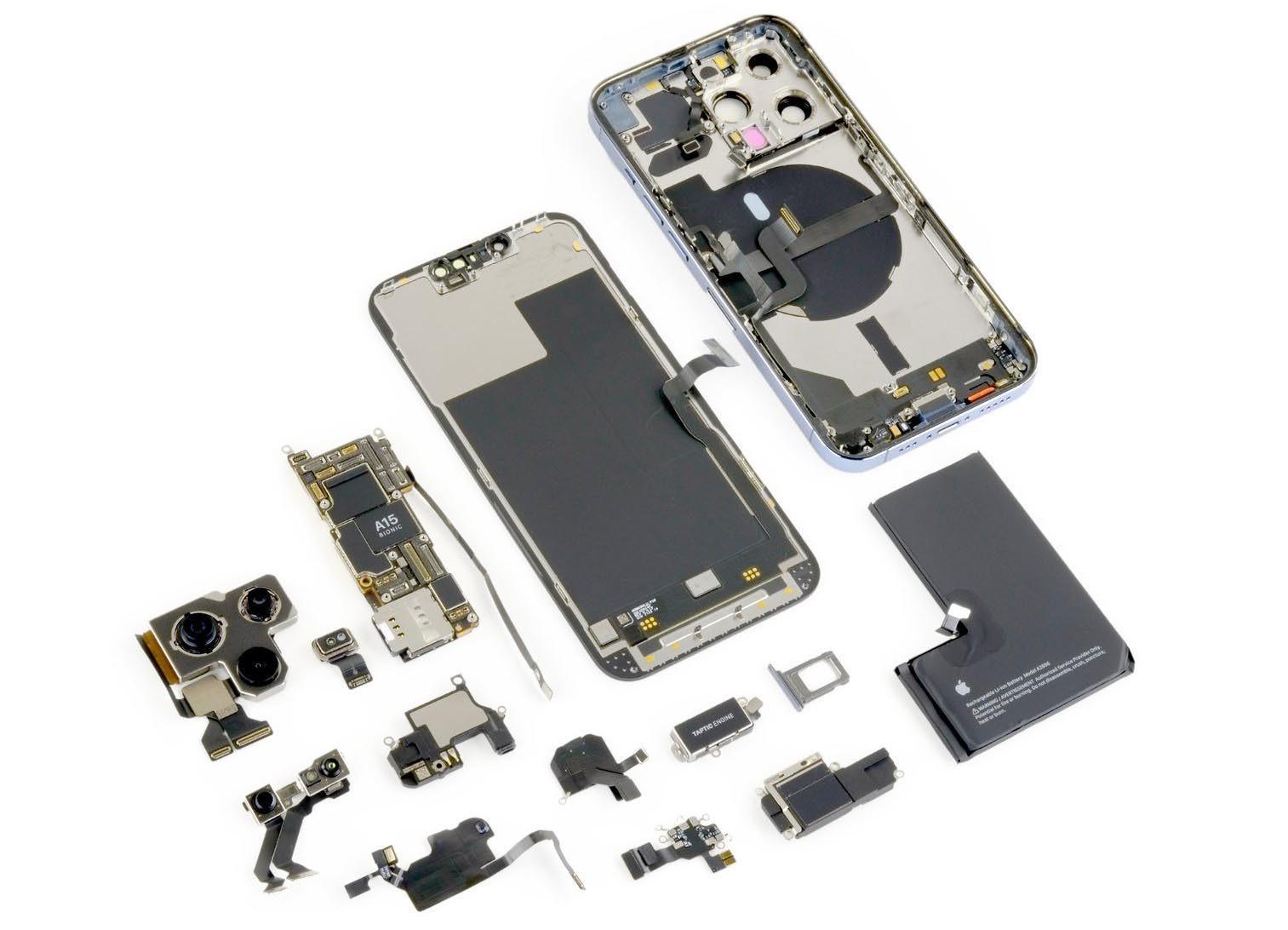Ремонт iPhone 13 стал ещё сложнее, чем раньше (265320 O)