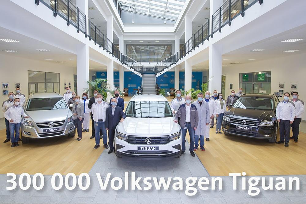 300 000 Volkswagen Tiguan произведено в России (300.000 Volkswagen Tiguan)