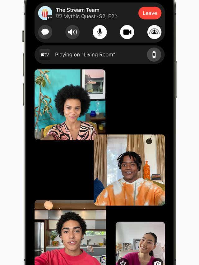 Обзор iOS 15: режим фокусировки, обновление Safari, новые эмоджи и многое другое (830eab68 2fc0 43f5 bc1d f5a56335d81d Apple iPhone12Pro iOS15 FaceTime expanse groupfacetime 060721)
