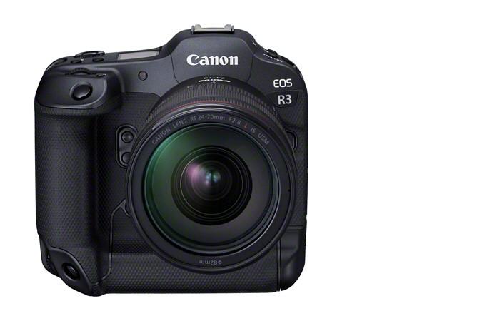 Canon выпустила высокоскоростную камеру Canon EOS R3 для съемки репортажей и спортивных событий (APOLLO FrontSlantDown RF24 70mmF2.8LISUSM)