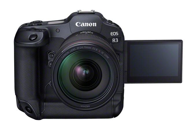 Canon выпустила высокоскоростную камеру Canon EOS R3 для съемки репортажей и спортивных событий (APOLLO FrontSlantDown RF24 70mmF2.8LISUSM Vari)