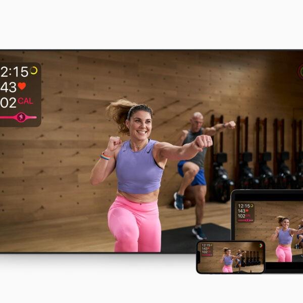 Сервис Apple Fitness+ заработает в России (Apple Fitness Plus HIIT 09142021)