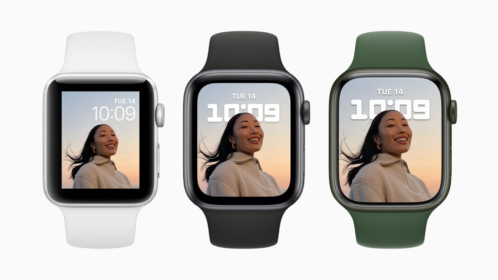 Всё, что показала Apple 14-го сентября: iPhone 13, Apple Watch series 7, новые iPad и iPad mini (Apple watch series7 design 09142021)