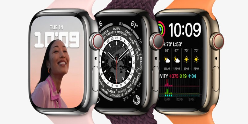 Начинается предзаказ Apple Watch series 7, наконец-то известны цены (Apple watch series7 lineup 01 09142021)