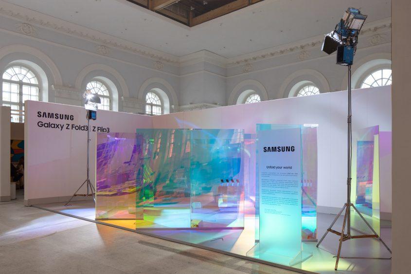 Samsung поддерживает цифровое искусство на международной ярмарке Cosmosсow (Cosmoscow Samsung 845x563 1)