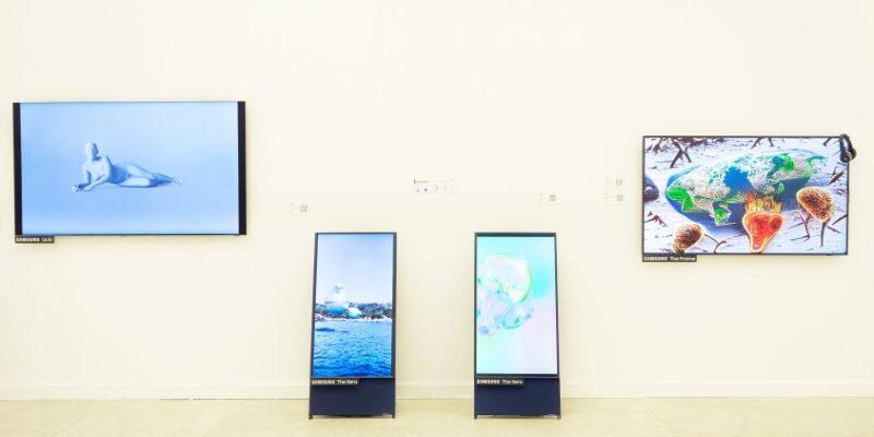 Samsung поддерживает цифровое искусство на международной ярмарке Cosmosсow (Cosmoscow Samsung Gallery new 844x563 1)