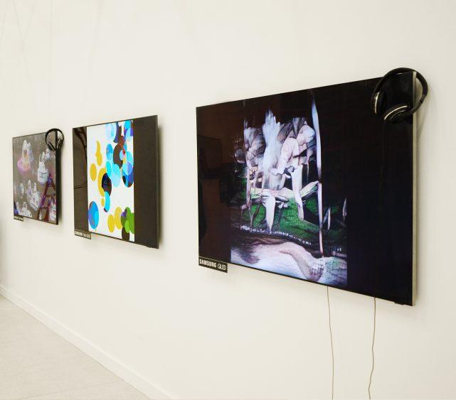 Samsung поддерживает цифровое искусство на международной ярмарке Cosmosсow (Cosmoscow Samsung The Frame 1 641x563 1)