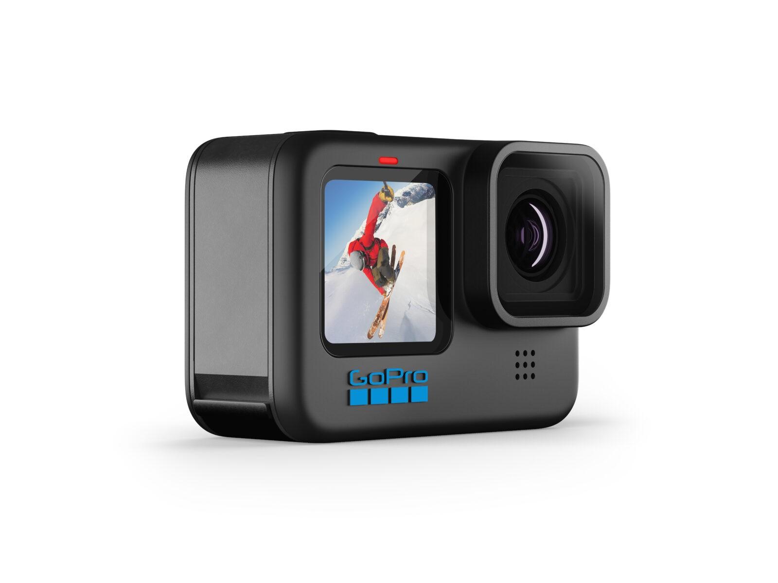 GoPro выпустила новое поколение экшн-камер HERO 10 (HERO10 Black 45)