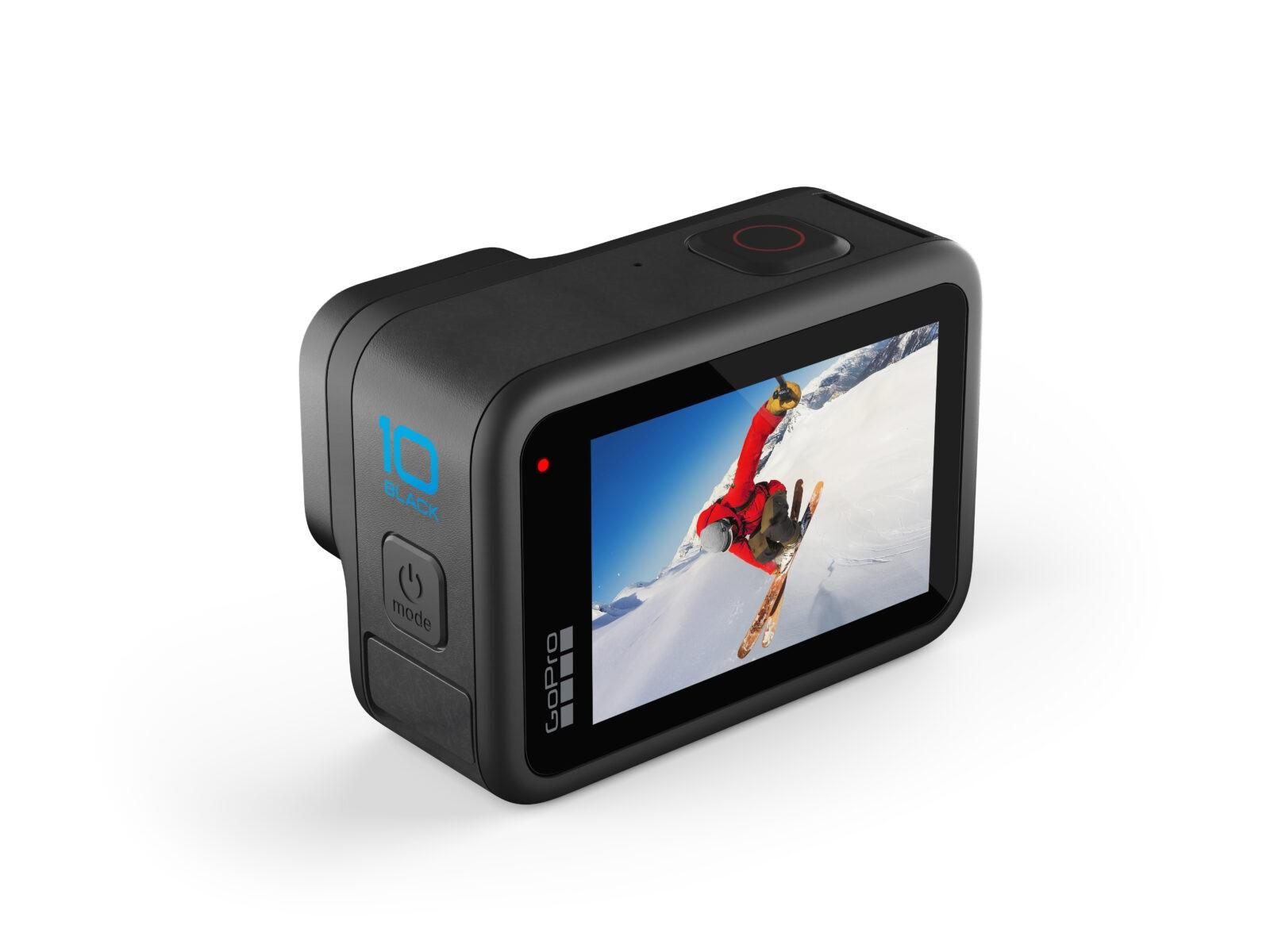 GoPro выпустила новое поколение экшн-камер HERO 10 (HERO10 Black Elevated)