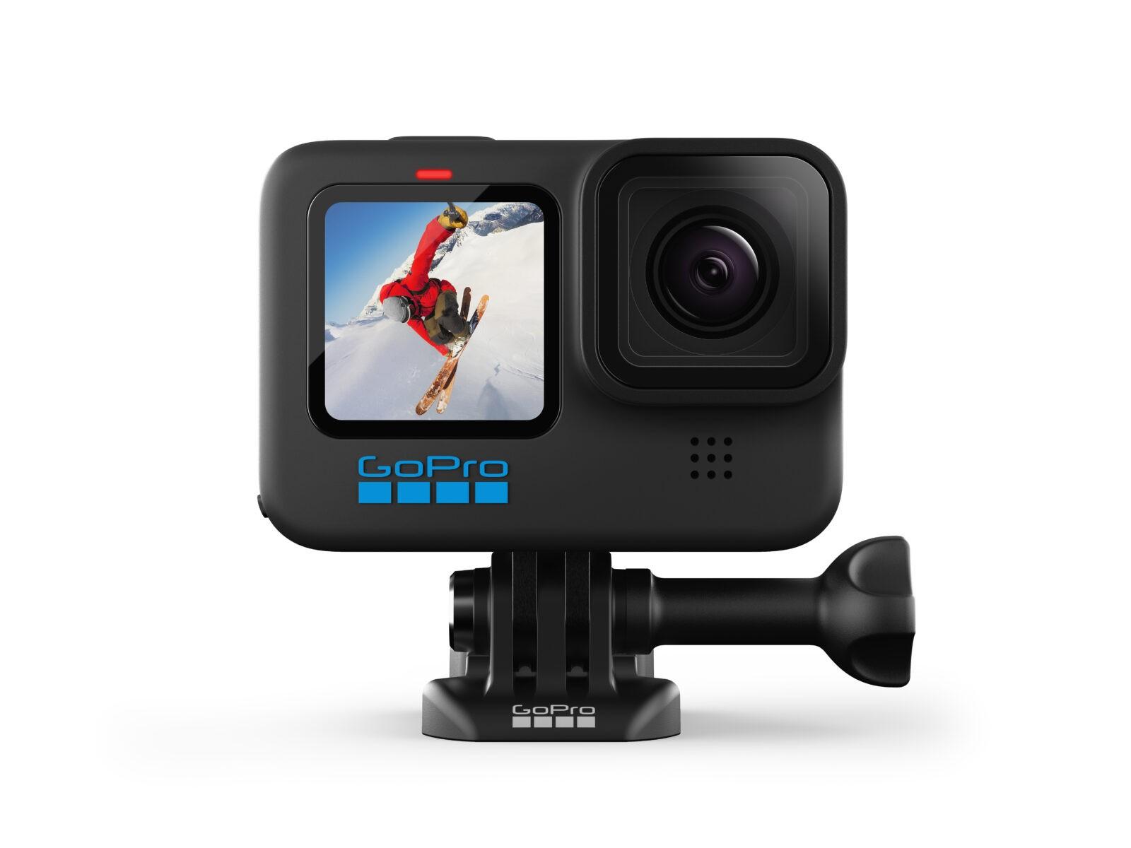 GoPro выпустила новое поколение экшн-камер HERO 10 (HERO10 Black QR Buckle)