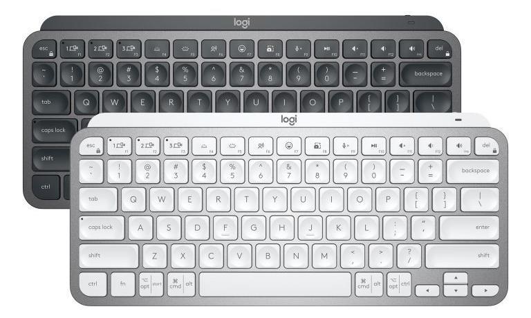 Logitech сделала миниатюрные клавиатуры MX Keys Mini (MX Mini black and white)