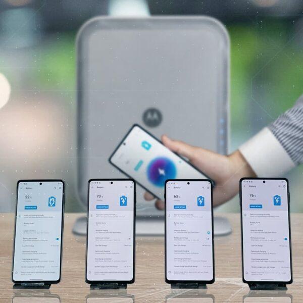 Motorola продемонстрирует свою технологию воздушной зарядки (Motorola Air Charging)